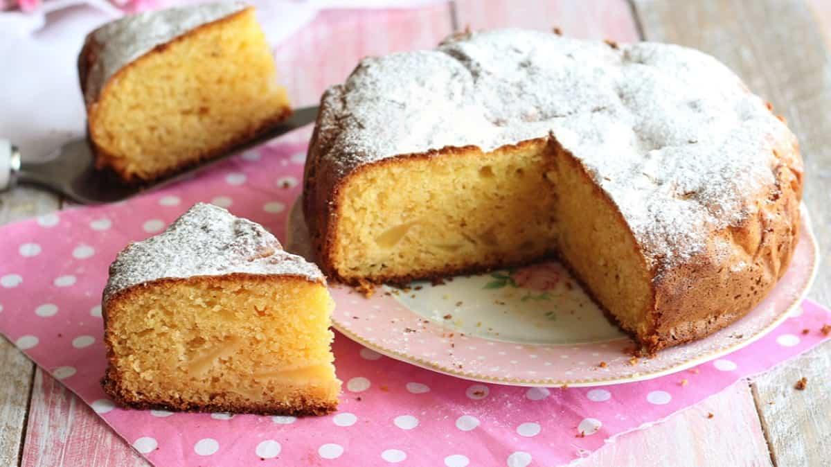 Gâteau moelleux aux pommes et mascarpone sans gluten