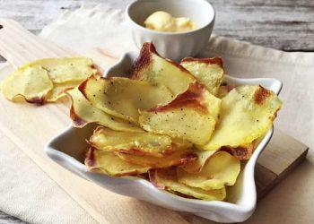 Pommes de terre croustilles au four