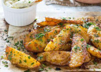 Pommes de terre rustiques au paprika et parmesan