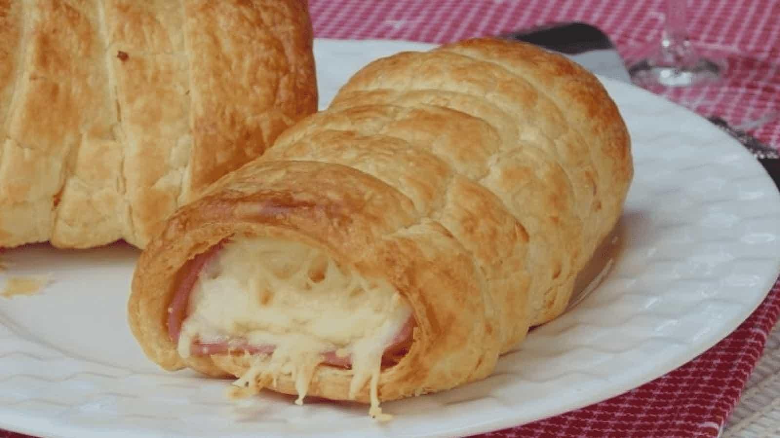 Roulés au jambon et fromage