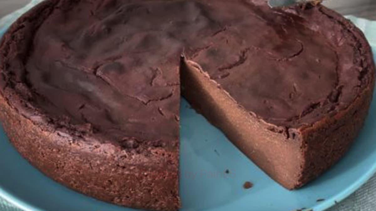 Flan au chocolat léger et rapide