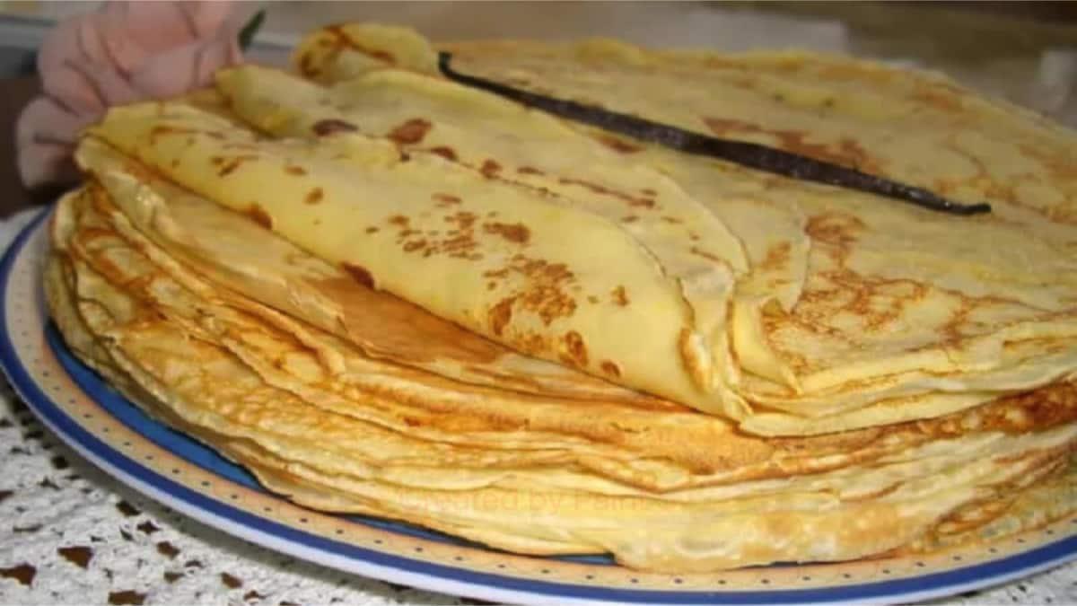 Pâte à crêpes de Cyril Lignac
